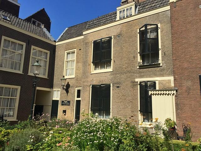 Hofje en La Haya