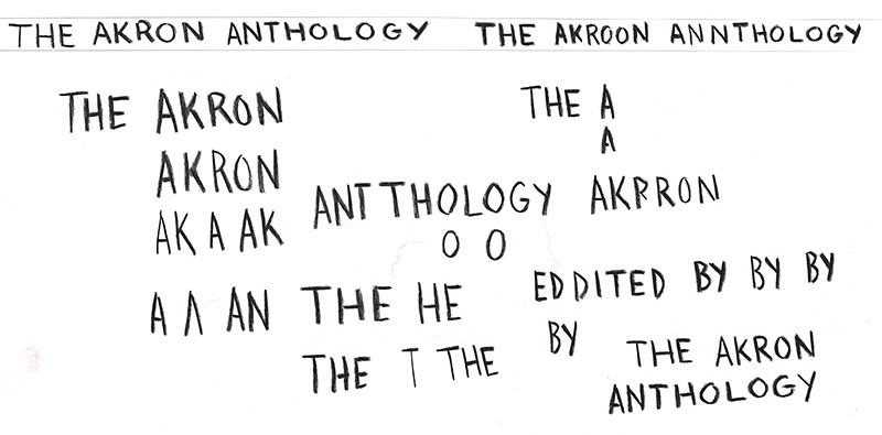 Akron Anthology Process