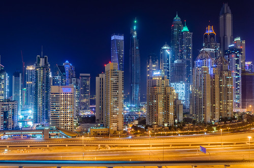 Dubai Marina at Night | by dibblington