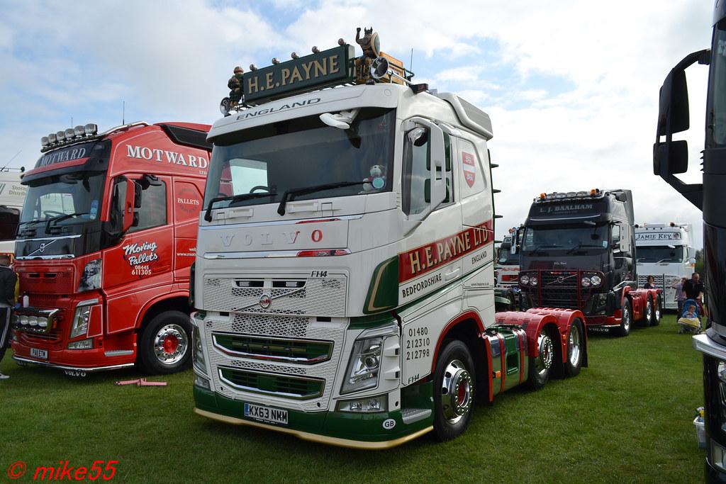 Volvo Fh4 H E Payne Transport Ltd Reg Kx63 Nmm Flickr