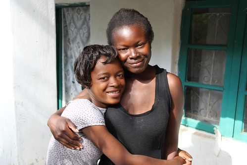 Young mothers Brenda, 16, with her sister Atupele, 18 - A reality for girls | by DFID - UK Department for International Development