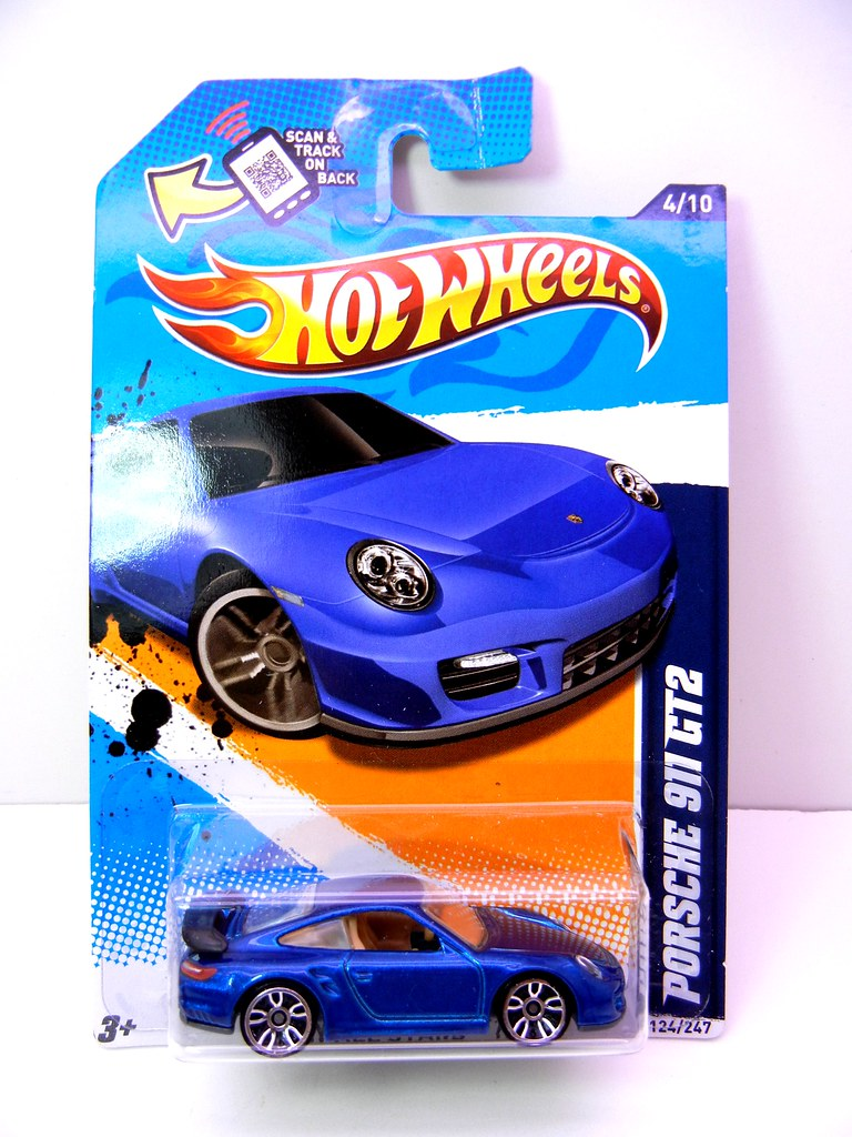 hot wheels porsche 911 gt2 blue 1 justjdm photography flickr. Black Bedroom Furniture Sets. Home Design Ideas