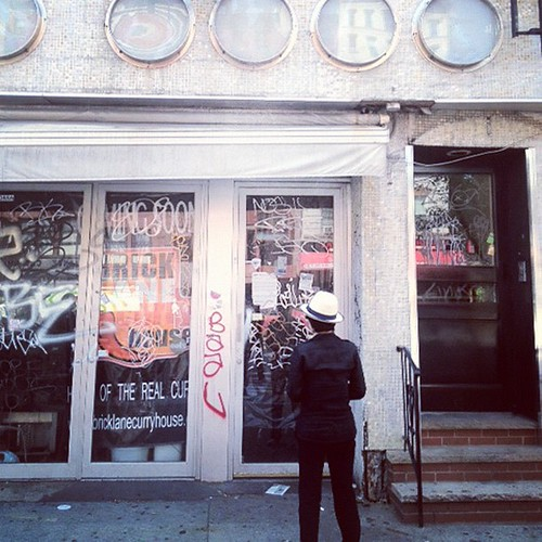 99 Second Avenue, NYC: It was a good larger space for my mind… now the restaurant at least looks like a shell of my memory. The restaurant was one of the best in the city. Had great chicken soup and matzo balls. yoko | by Yoko Ono official