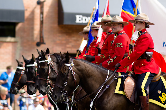 Mounted Mounties