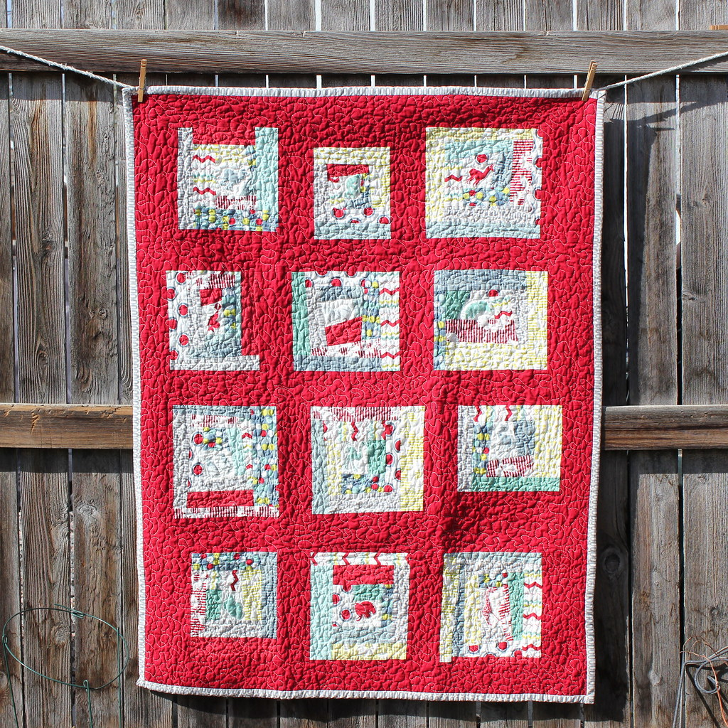 Hullabaloo Quilt Quilt I Made For A Friends New Baby Boy