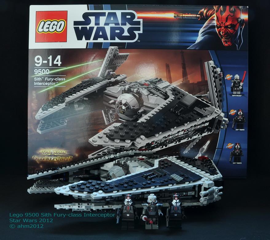 Star Wars Lego 9500 Si...N Class