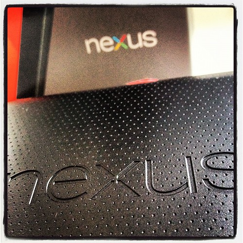 Nexus 7... My second attempt with an Android device... Let's hope this ends better... | by bjoern