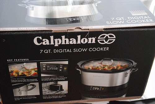 7Quart Slow cooker in box | by myhalalkitchen2