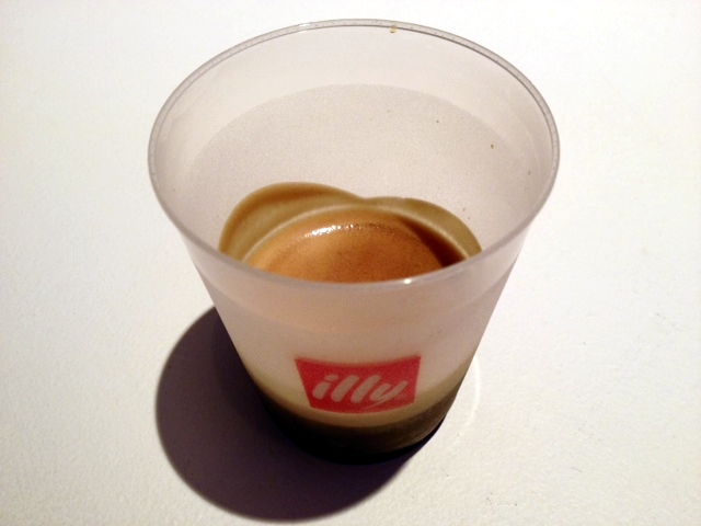 Illy coffee as art