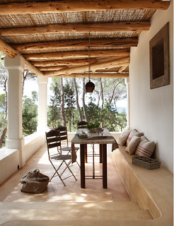 a modern rustic home on formentera | by the style files