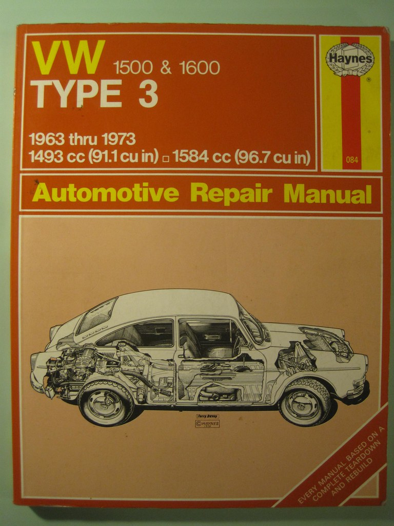 volkswagon type 3 manual