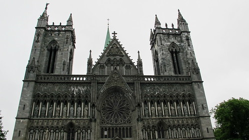 Nidaros Cathedral in Trondheim | by ceila♪♫♪
