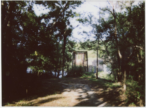 PolaroidWeek Day 1: Overgrown Bridge, SC | by jasonepowell