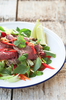 thai beef salad | by photo-copy