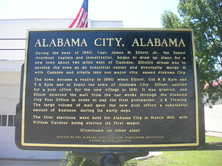 Alabama City Historic Marker | by jimmywayne