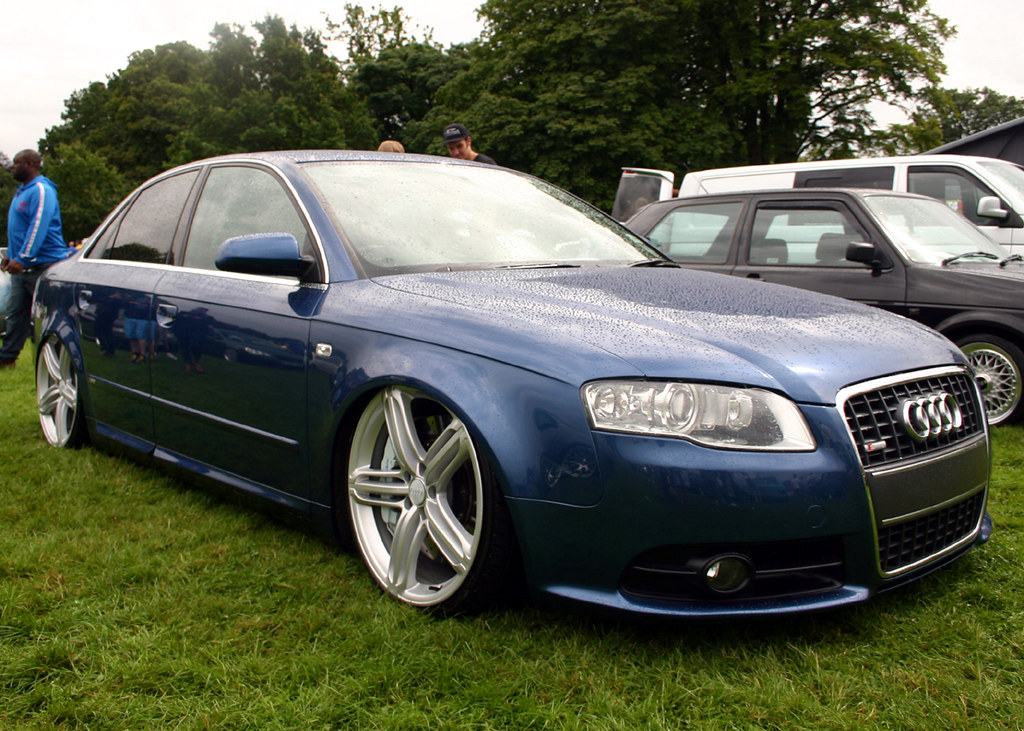 Audi A6 Slammed On Huge Audi S5 Triple Spoke Rims Flickr