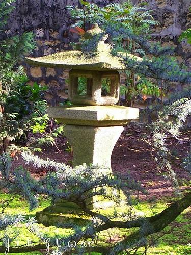 Jardin japonais parc albert kahn lanterne balade promen for Jardin japonais lanterne