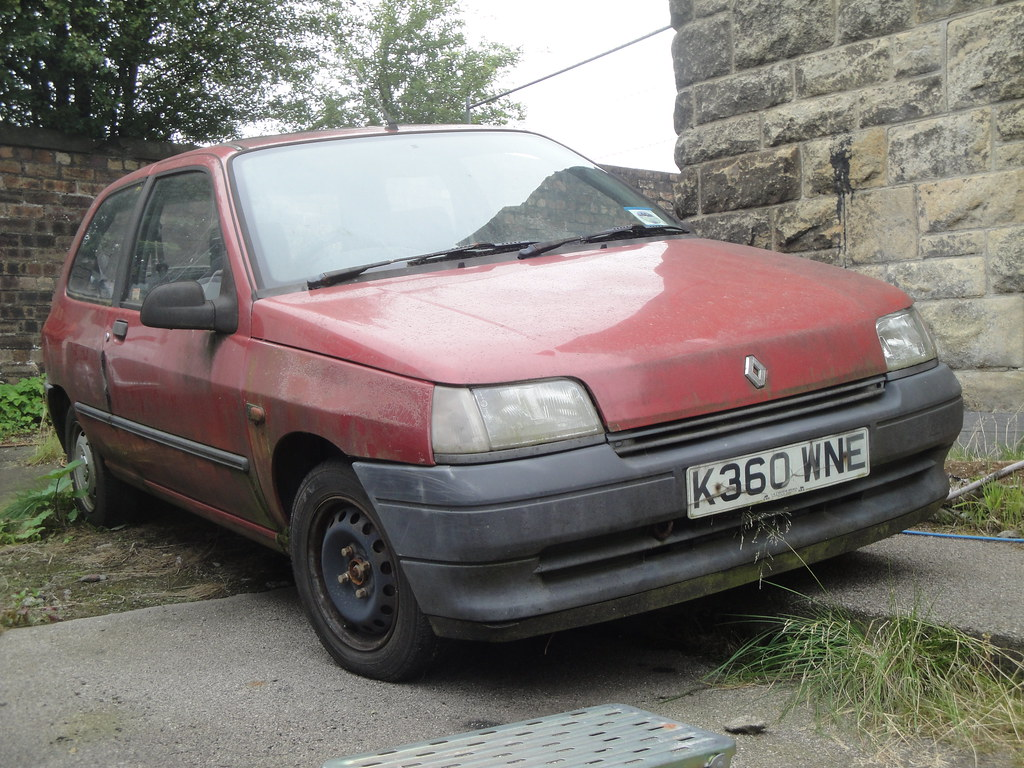 1992 renault clio rl 1 9d currently sorn alan gold flickr. Black Bedroom Furniture Sets. Home Design Ideas