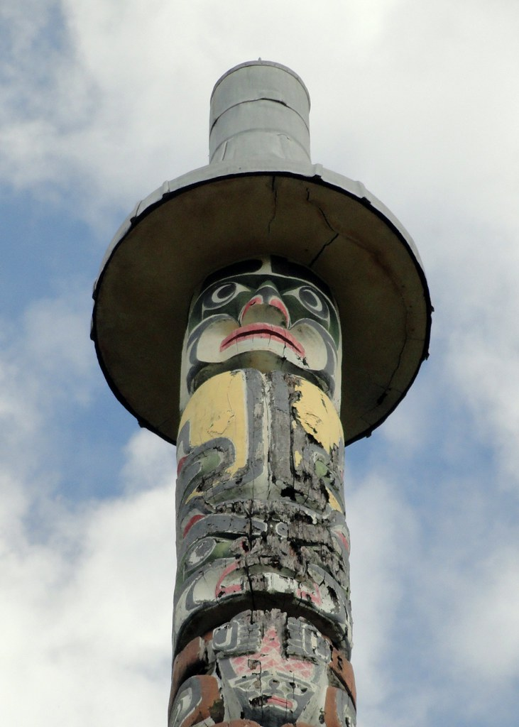 Kwakiutl Totem Poles Kwakiutl Totem Pole