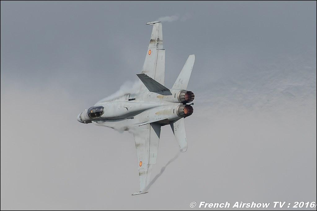 Spanish Air Force EF-18 Hornet , F18 Hornet solo display, Spain Air Force , Spanish Air Force Ef 18 Hornet ,Belgian Air Force Days 2016 , BAF DAYS 2016 , Belgian Defence , Florennes Air Base , Canon lens , airshow 2016