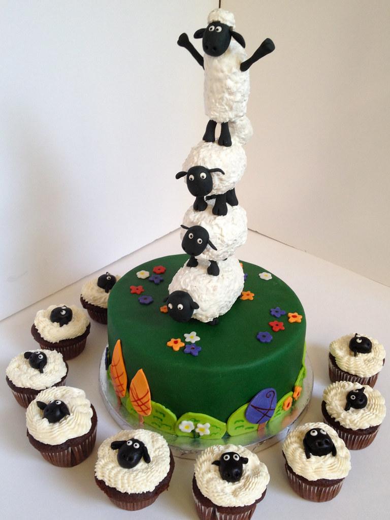 How To Make A Shaun The Sheep Cake