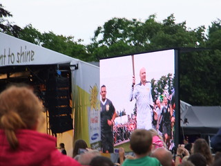 Olympic Flame arrives in Cambridge | by Elfleda