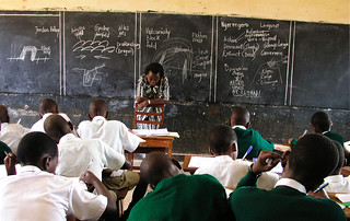 A primary classroom in Kampala | by World Bank Photo Collection