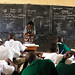 A primary classroom in Kampala