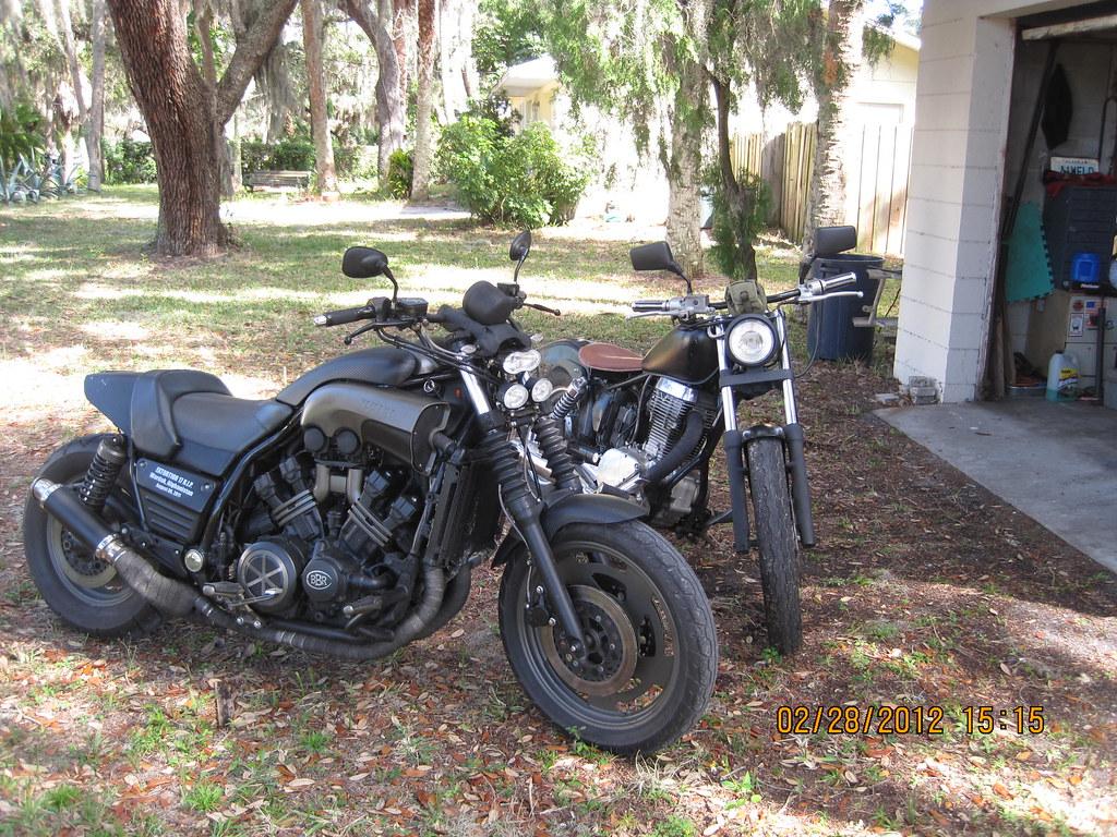 Yamaha F Motorcycle
