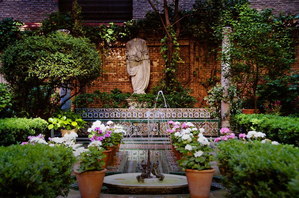 Jard n museo sorolla madrid el propio sorolla dise y for Casa y jardin tienda madrid