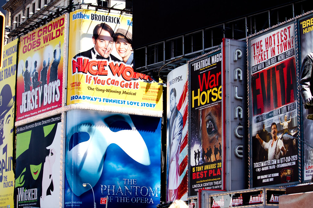 Broadway Ads in Times Square