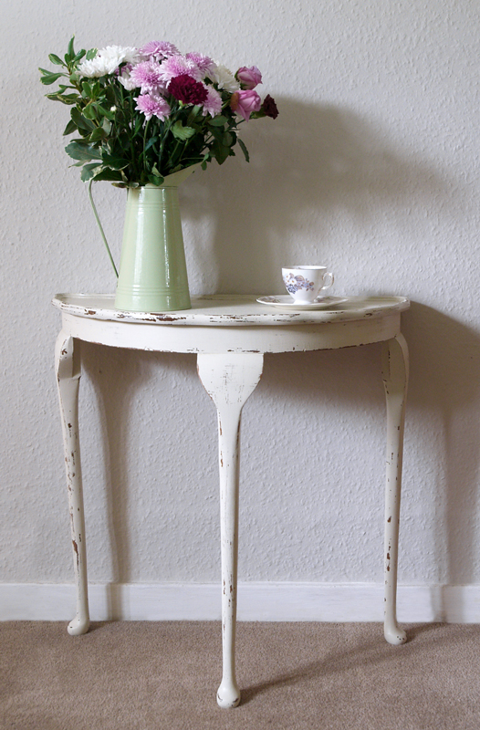 45 lovely cream shabby chic console table www ebay co uk flickr