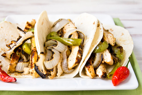 Grilled Chicken Fajitas | by TheBrewer&TheBaker