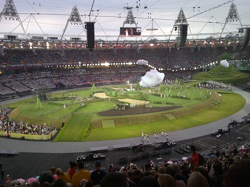 2012 London Olympics Opening Ceremony | by m q c