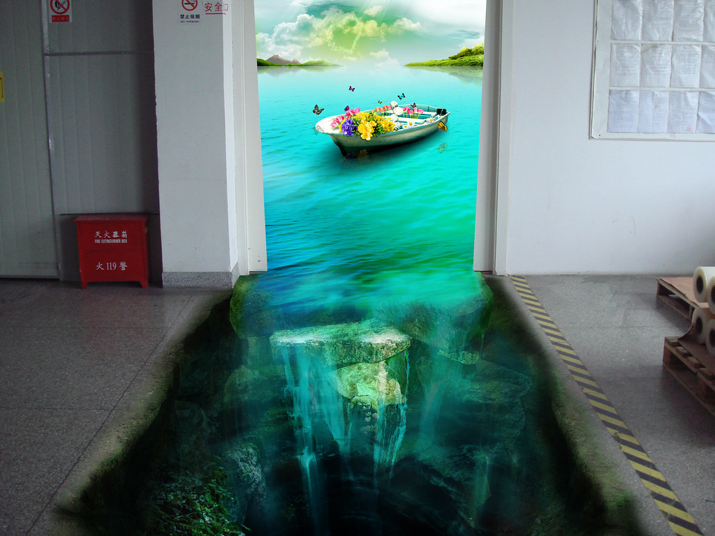 3d Poster 3d Floor Sticker Design We Design 3d Floor
