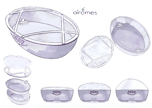 Sketch of Airômes by Mylène Baillet - Electrolux Design Lab 2012 semi-finalist | by Electrolux Design Lab