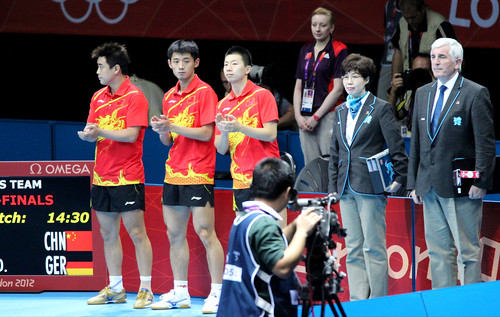 LO2012 China Team 03 | by Table Tennis England