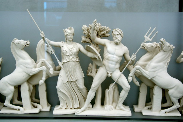 similarities and differences between athena aphrodite relationship
