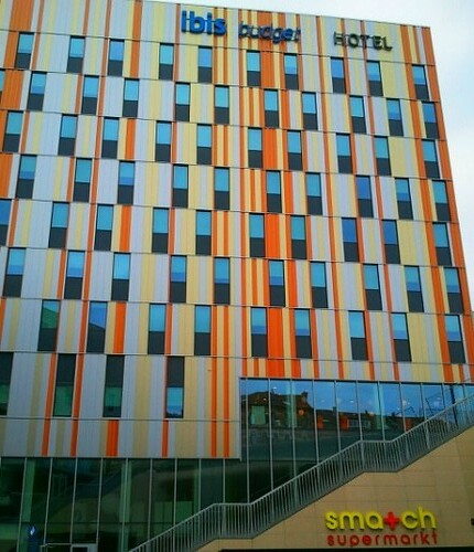 Carte Hotel Ibis En France