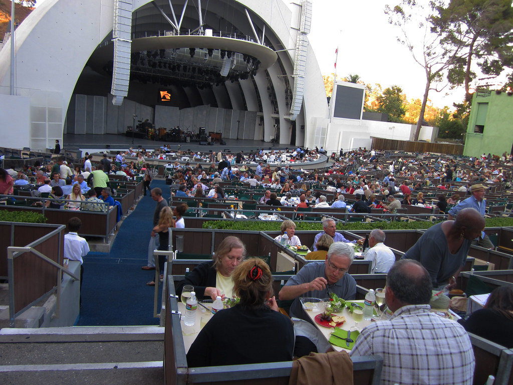 Box Seats At Hollywood Bowl Paul Iwancio Flickr