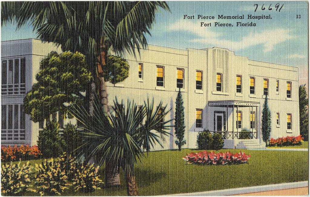 fort pierce memorial hospital fort pierce florida flickr