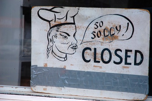 So Solly! Closed | by Steve Snodgrass