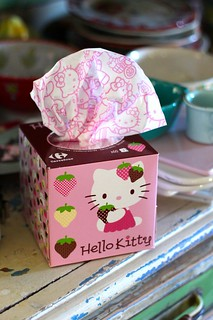 Hello Kitty Kitchen Tissues | by Cute Cottage Overload