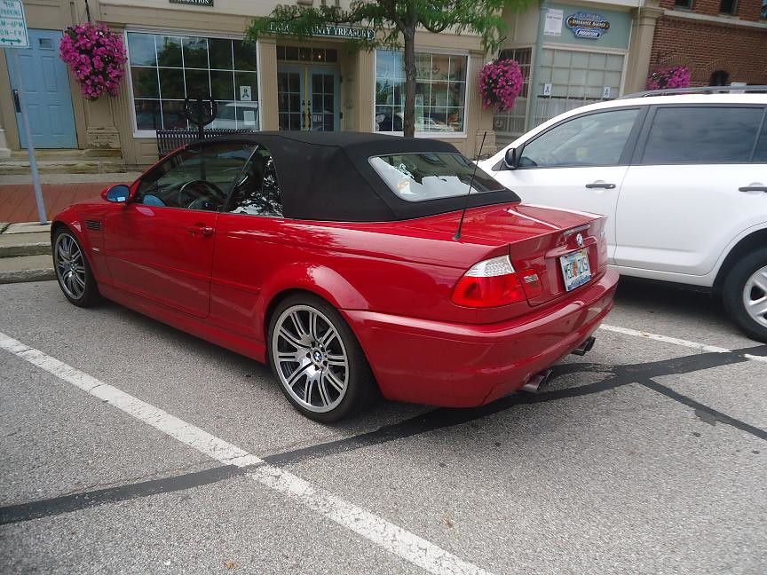 Bmw M3 E46 Convertible Red Fla Plates Somehow My 3rd Most Flickr