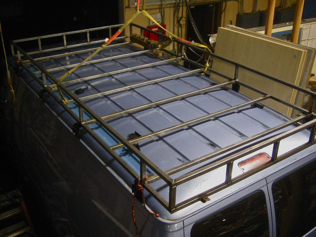 Van Safari Roof Rack | Econoline Roof Rack | Chris Hirneisen | Flickr