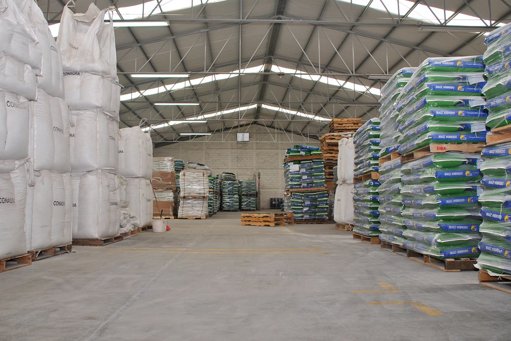seed storage warehouse at small seed company bidasem