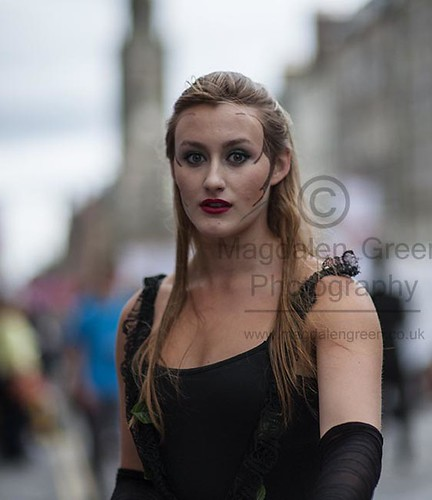 Daisy Cummins - Performer Playing Hera in Echo and Narcissus - Edinburgh Festival 2012 | by Magdalen Green Photography
