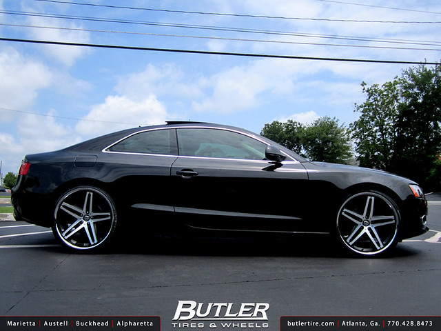 Audi A5 With 22in Lexani R Five Wheels Flickr Photo