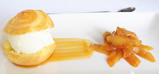 Choux Pastry with Caramelized Apple | by Sugar for the Brain