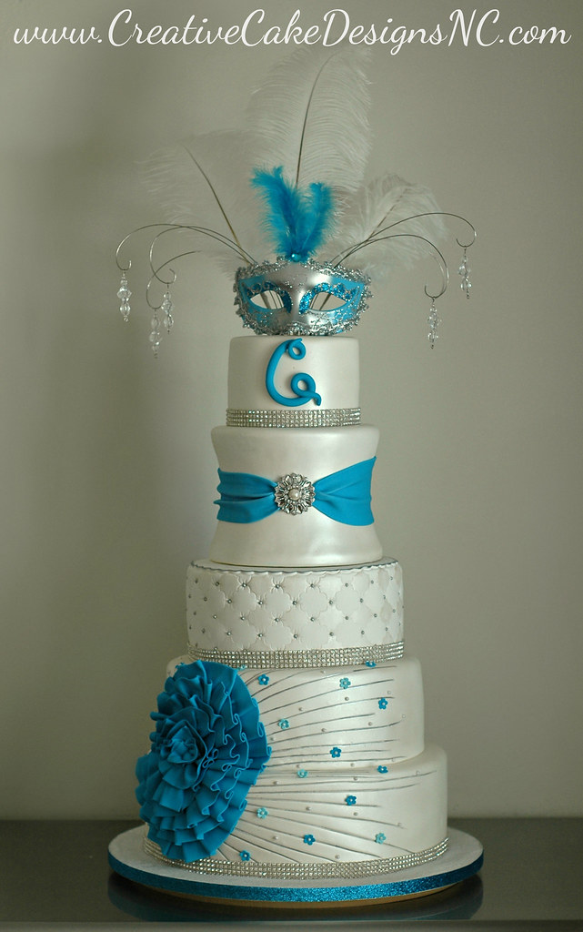 Quinceanera Cake Covered In Scratch Made Delicious